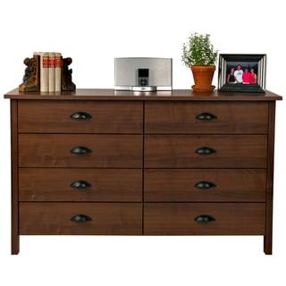 Venture Horizon Walnut 8-drawer Chest