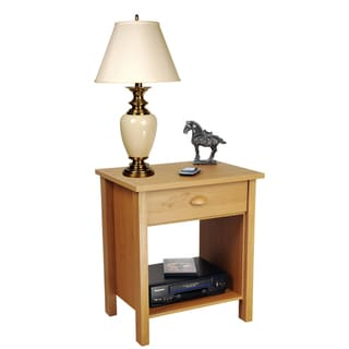 Venture Horizon Oak Finish Nouvelle Nightstand