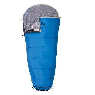 Slumberjack Go-N-Grow Boys 30 Degree Short RH Sleeping Bag
