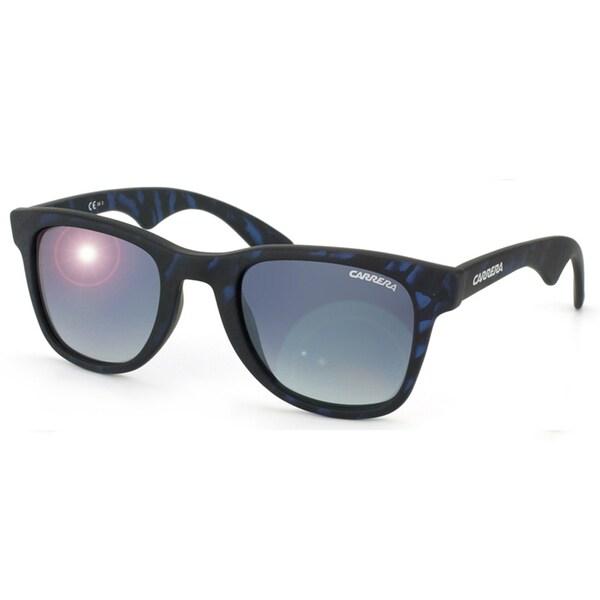 Carrera 6000 891 Matte Blue Horn Plastic Unisex Sunglasses