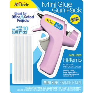 Ad-tech Mini Glue Gun with Glue