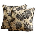 RST Outdoor 'Delano' Jacquard Square Pillows (Set of 2)