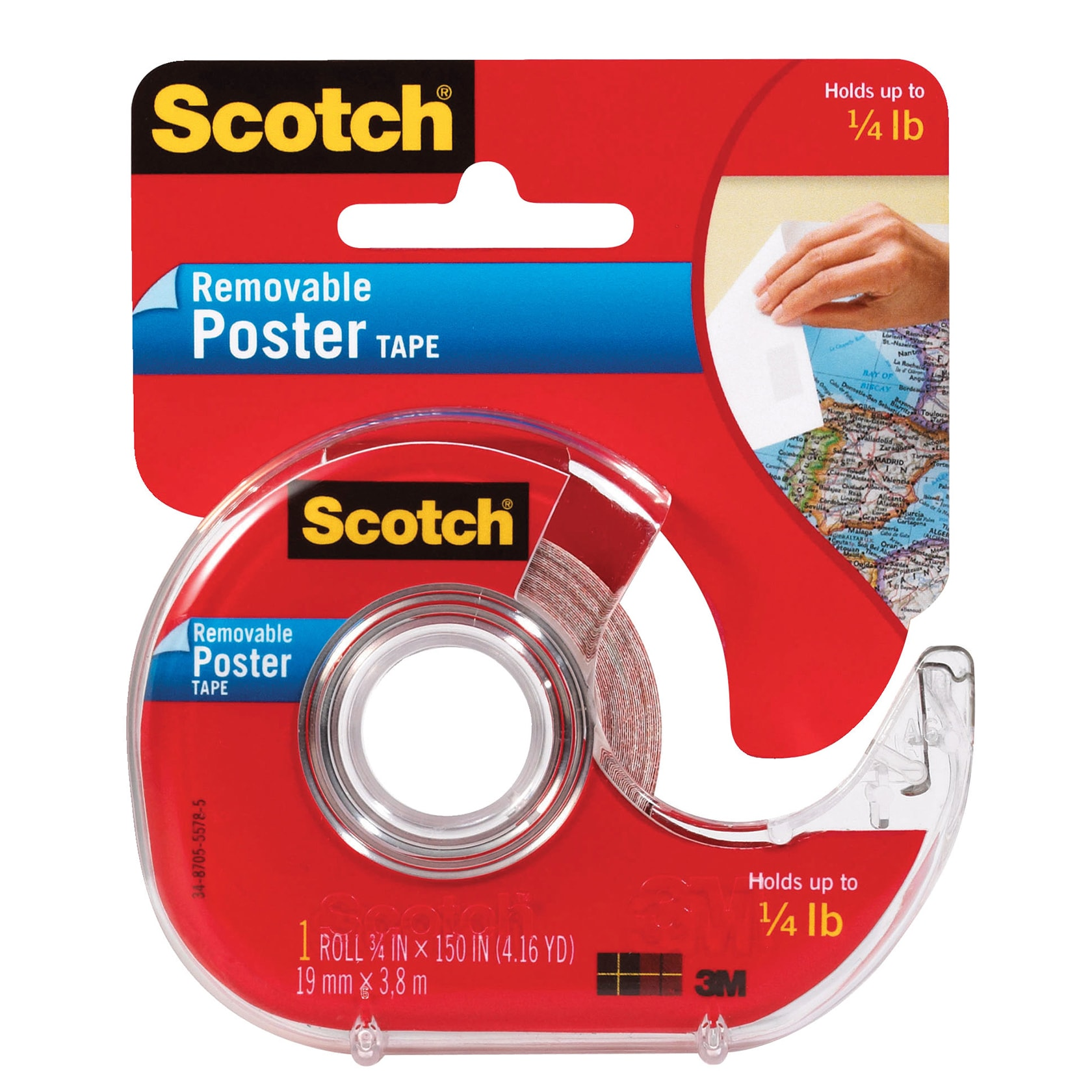 3M Scotch Removable Poster Tape at Sears.com