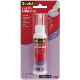 Scotch 2-ounce Quick Dry Adhesive