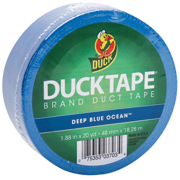 Deep Ocean Blue Duck Tape 60-foot
