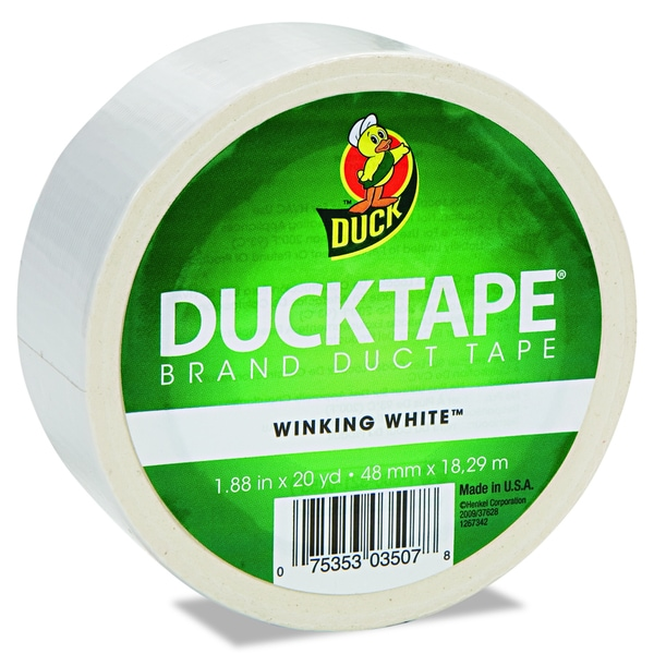 60-foot Winking White Duck Tape