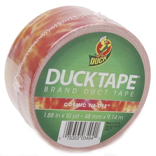 Orange Tie Dye Duck Tape 30-inch