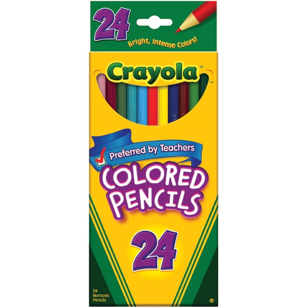 Crayola Colored Pencils (Pack of 24)