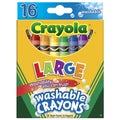 Crayola Large Washable Crayons (Pack of 16)