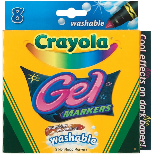 Crayola Gel Washable Markers (Pack of 8) 9992474