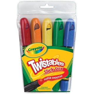 Crayola Twistables Slick Stix (Pack of 5)