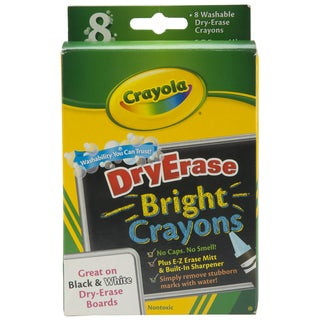 Crayola Bright Dry-erase Crayons (Pack of 8)