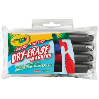 Crayola Dry-erase Markers (Pack of 4)