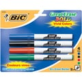 Bic Great Erase Bold Fine Point Dry Erase Markers (Pack of 4)