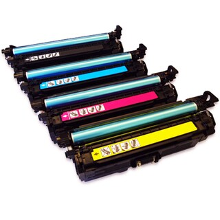 NL-Compatible CE400A Standard Yield Compatible BCYM Laser Toner Cartridge Set