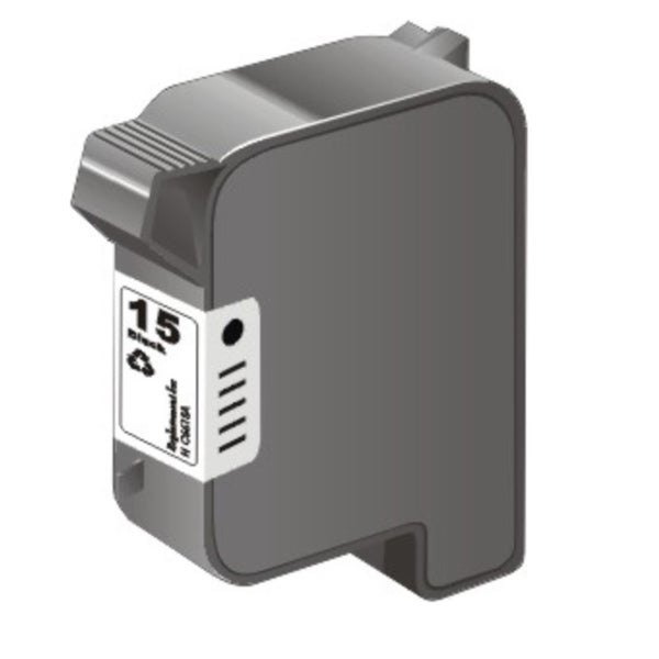 HP 15/ C6615DN Black Ink Cartridge (Remanufactured)