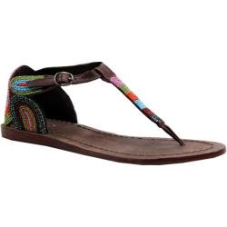 Women's Diba Jelly Bean Cocoa Leather