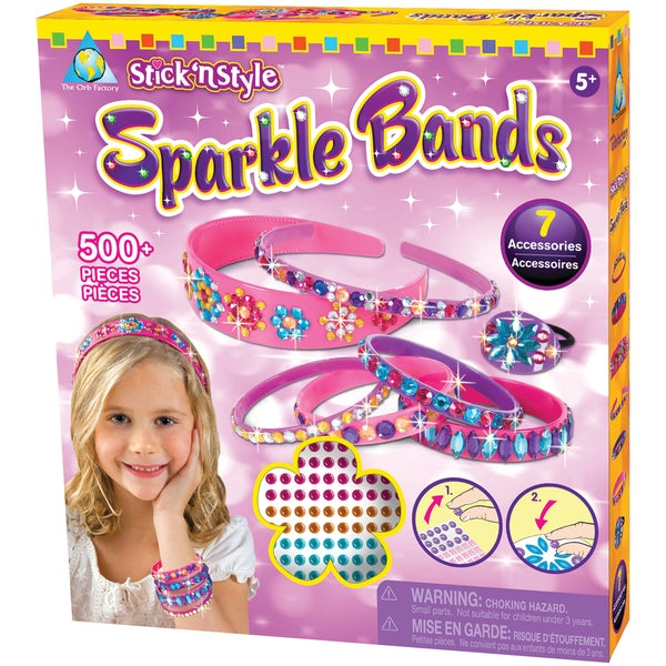 Stick 'n Style Kit Sparkle Bands