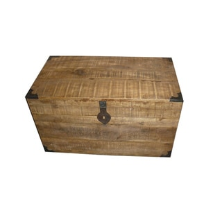 Paris 32-inch Wooden Chest