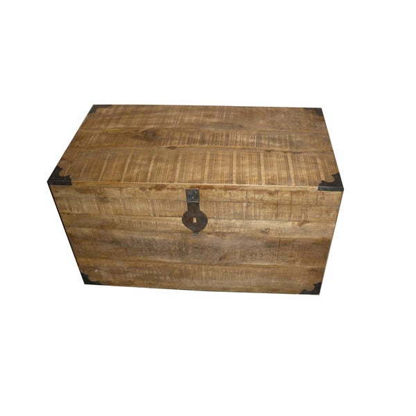 Kosas Home Paris 32-inch Wooden Chest