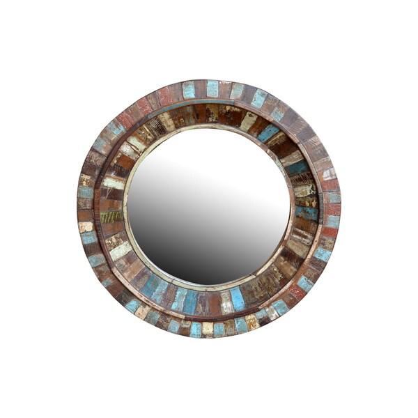 Kosas Home Marita Round Mirror