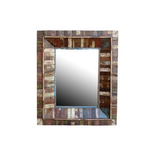 Marita Decorative Wood Mirror