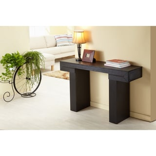 Enitial Lab Tiffy-Tee Black Finish Sofa Table