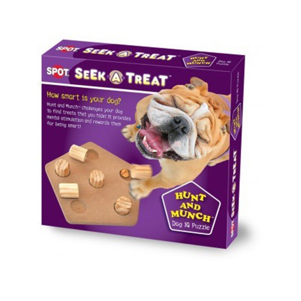 Seek-A-Treat Hunt and Munch Interactive Puzzle Dog Toy