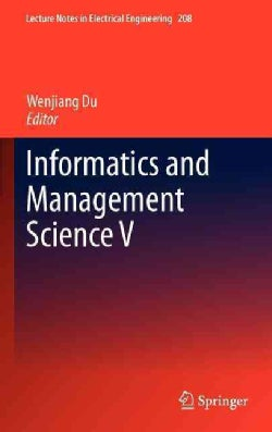 Informatics and Management Science V (Hardcover)