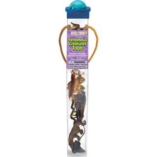 Safari Ltd 'Venomous Creatures' Plastic Miniatures in Toobs (Pack of 9)