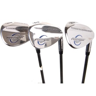 Pure Spin Golf Wedge Pack (52, 56, 60 Degree)