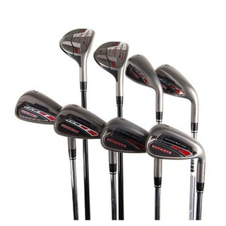 Adams Redline Steel Shaft Hybrid Irons (3H, 4H, 5-PW)
