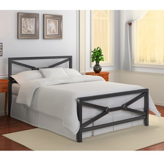 James Metal King-size Bed