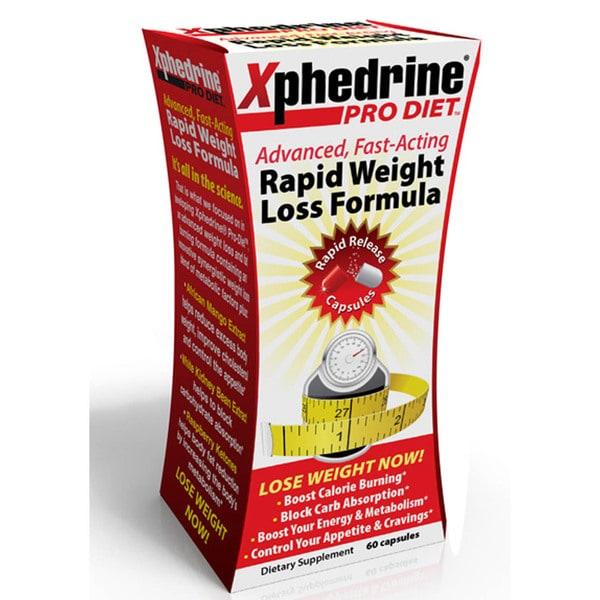 Xphedrine Pro Diet Pills (60 Capsules)