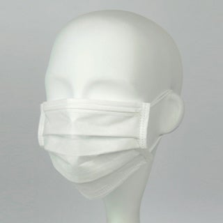 CLK Superior Earloop White Procedure Masks (Case of 500)