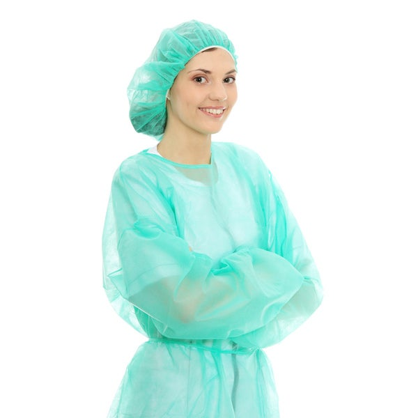 Blue Isolation Gowns (Case of 50)