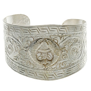 Pair of Fishes Good Fortune Cuff (Nepal)
