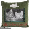 Holiday Pet Photo Memory Velvet Pillow