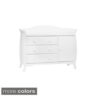 Million Dollar Baby White Ashbury Dresser