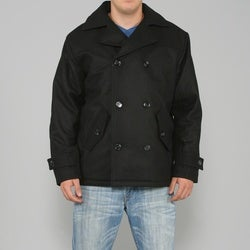 Ron Chereskin Men's Short Wool Coat