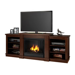 Real Flame Dark Espresso Gel Fuel Fireplace