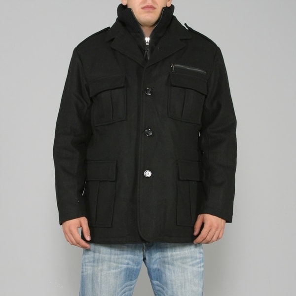 Ron Chereskin Men's Wool Peacoat