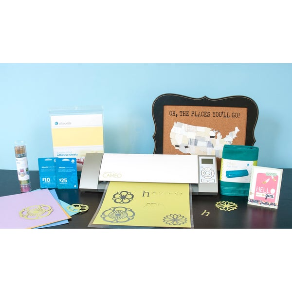 Silhouette Cameo Mega Bundle Die Cutting Machine with Bonus $25 Gift Card