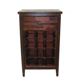 Florence Black Wine Cabinet