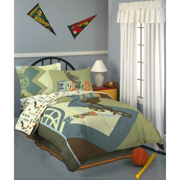 X Games 'Graphix' Full-size Bed in a Bag with Sheet Set