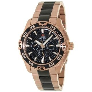 Swiss Precimax Men's Formula-7 Chronograph Watch with Sapphimax Crystal