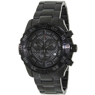Swiss Precimax Men's Formula-7 Pro Black Chronograph Watch
