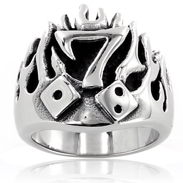 lucky 7 dice rings