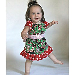 Girls Holiday Christmas Dress
