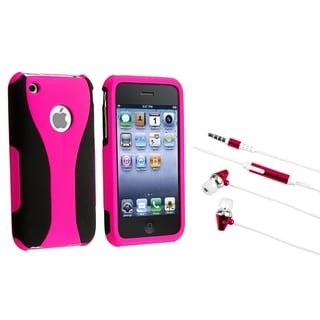BasAcc Hybrid Case/ Headset for Apple iPhone 3G/ 3GS